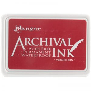 Ranger - Archival Vermillion Ink Pad
