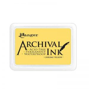 Ranger - Archival Chrome Yellow Ink Pad