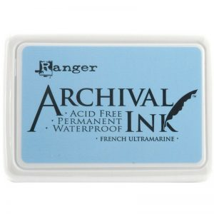 Ranger - Archival French Ultramarine Ink Pad