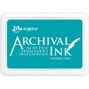 Ranger - Archival Paradise Teal Ink Pad