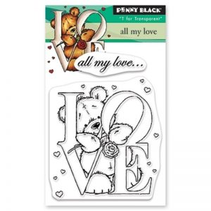 Penny Black Clear Stamps - All My Love