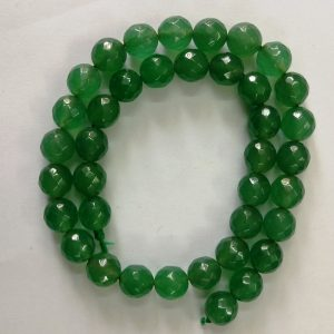 Semi Precious Green Zed Agate Beads