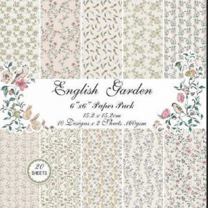 English Garden 6x6 Pattern Paper Pack