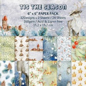 Tis The Season 6x6 Pattern Paper Pack
