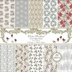 Winter Woodland 1 6x6 Pattern Paper Pack