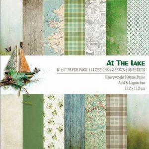 At The Lake 6x6 Pattern Paper Pack