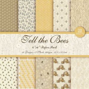 Tell The Bees 1 6x6 Pattern Paper Pack