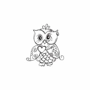 Kaisercraft Mini Owl Stamp