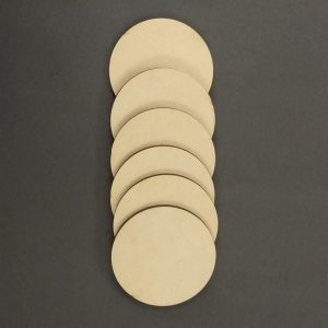 MDF Rounds - 3 Inches