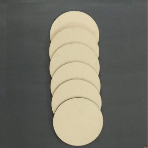 MDF Rounds - 5 Inches