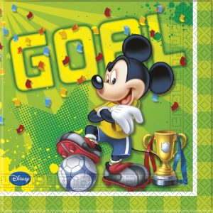 Mickey Football Decoupage Napkin