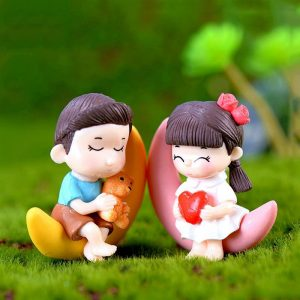 Miniature Cute Couple