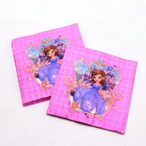 Sofia The First Princess Decoupage Napkin