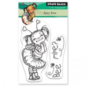 Penny Black Clear Stamps - Fairy Love