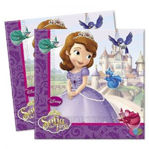 Sofia The First  Decoupage Napkin