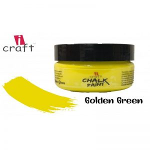 I Craft Chalk Paint - Golden Green 50ml