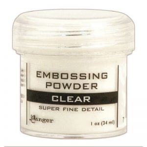 Ranger Embossing Powder - Clear 1  Oz