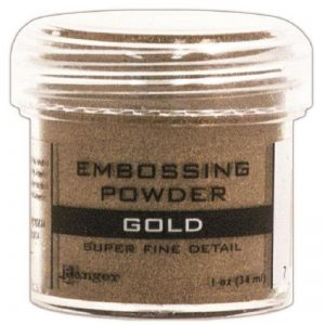 Ranger Embossing Powder - Gold 1 Oz