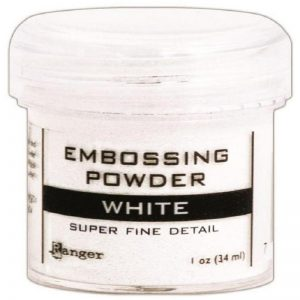 Ranger Embossing Powder - White 1 Oz