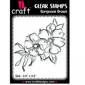 ICraft Clear Stamp - Gorgeous Grows