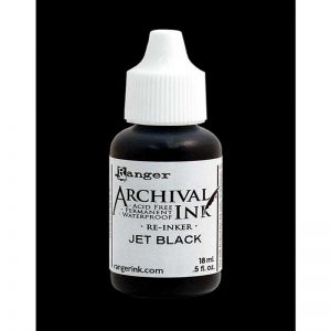 Ranger - Jet Black Archival Re Inker
