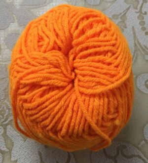 Orange Yarn Wool