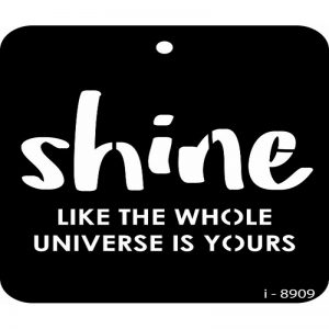 iCraft 4 x 4 Mini Stencil - Shine Like The