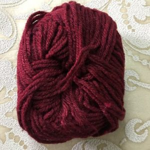 Maroon Yarn Wool