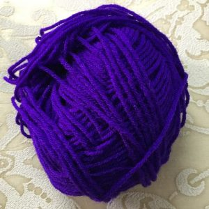 Purple Yarn Wool