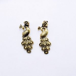 Antique Gold Peacock Spacer Bead