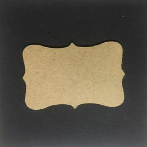MDF Label - Set of 5