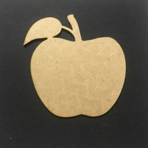 MDF Apple - Set of 5