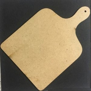 MDF Square Chopping Board - Set of 5