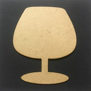 MDF Wine Glass - Set of 5