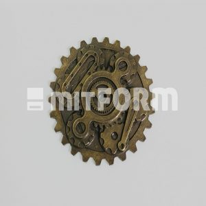 Mitform Metal Embellishment - Sprockets