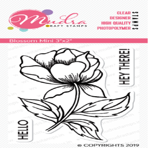 Mudra Clear Stamp - Blossom Mini