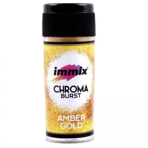 Chroma Burst - Amber Gold