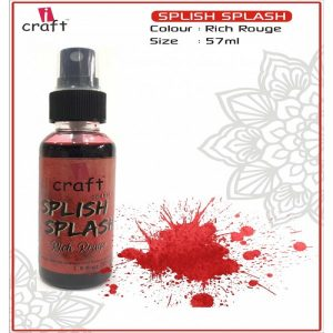 Icraft Splish Splash Color Spray - Rich Rouge