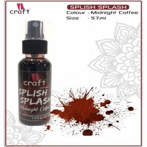 Icraft Splish Splash Color Spray - Midnight Coffee