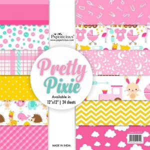 Papericious Designer Edition 12 x 12 Paper Pack - Pretty Pixie