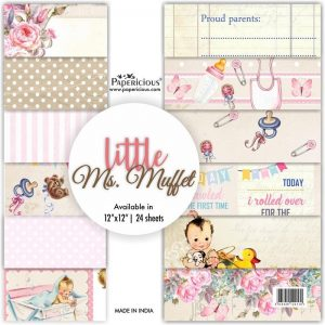 Papericious Designer Edition 12 x 12 Paper Pack - Little Ms. Muffet