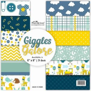 Papericious Designer Edition 6 x 6 Paper Pack - Giggles Galore