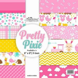 Papericious Designer Edition 6 x 6 Paper Pack - Pretty Pixie