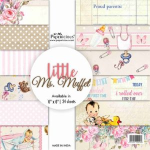 Papericious Designer Edition 6 x 6 Paper Pack - Little Ms. Muffet