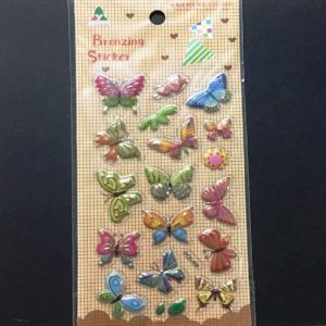 Bronzing Stickers - Butterflies