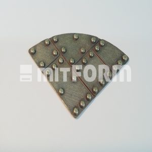 Mitform Metal Embellishment - Top Corner