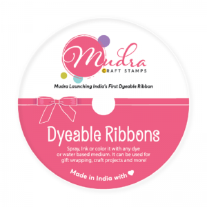 Dyeable Mudra Ribbons