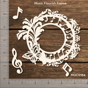 Music Flourish Frame Mudra Chipzeb