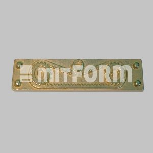 Mitform Metal Embellishment - Side Corner