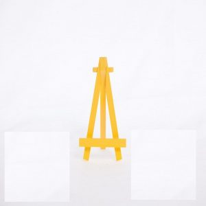 Wooden Easels - Yellow